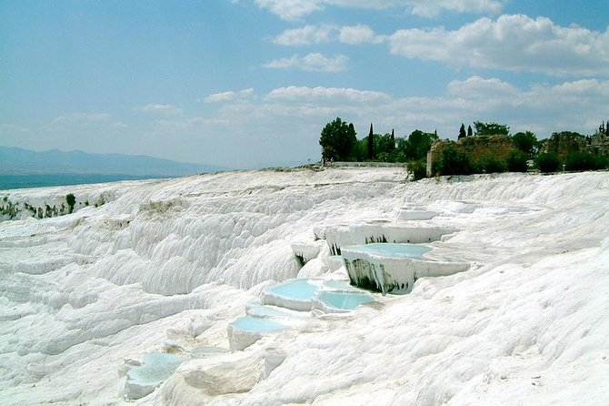 Pamukkale Hot Springs och Hierapolis Ancient City