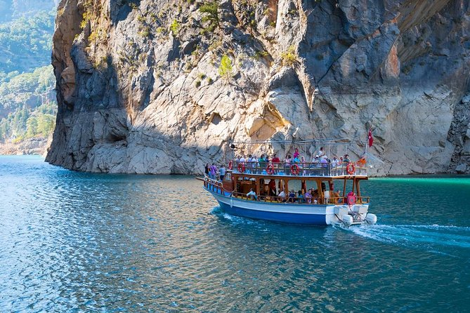 Mountain lake cruise in the Green Canyon with lunch departing from Belek hotels photo 4