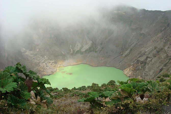 Irazu Volcano, Cartago Ruins and Sarapiqui River Tour from San Jose