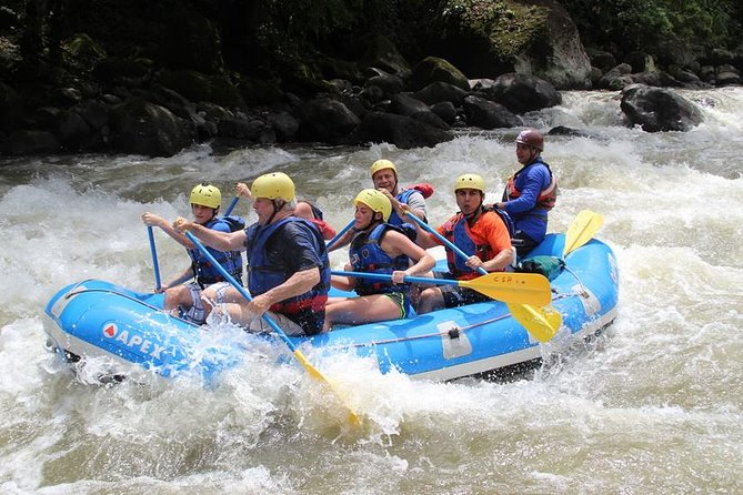 Rafting Pacuare River from San Jose