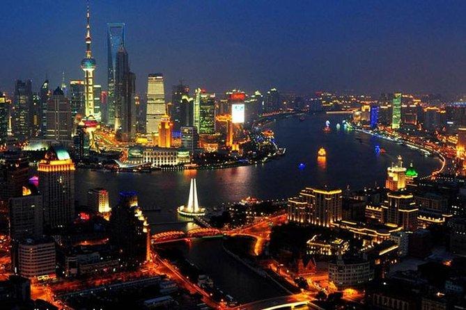 Zhujiajiao Water Town Tour including Huangpu River Night Cruise