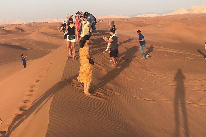 Sunset - 4in1 ( 4x4 Car Safari , Quad Bike , Sand Boarding , Desert Camp Dinner)