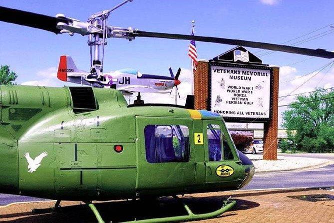 Actual restored Huey from Vietnam War era