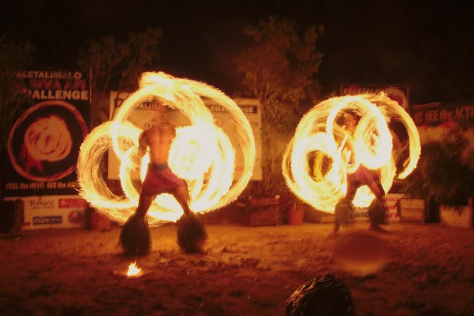 Siva Afi Cultural Show - Fire Knife Dancing, Traditional Siva and Dinner