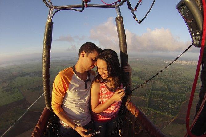 Passeio de balão de ar quente ao nascer do sol em Punta Cana