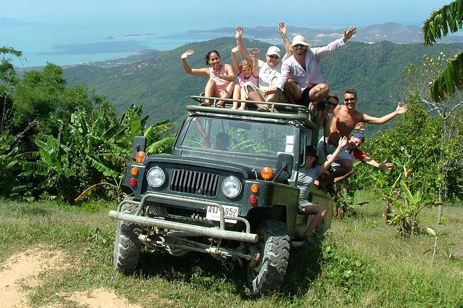 Eco Jungle Safari Tour around Koh Samui Including Lunch