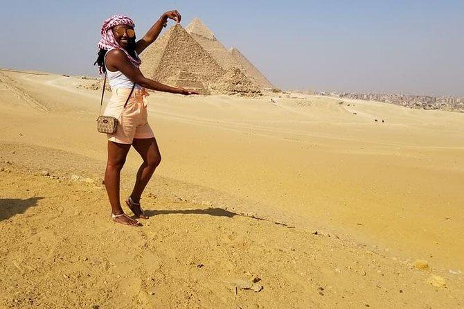 Safari at Giza Pyramids with Quad Bike, Giza Pyramids, and Sphinx
