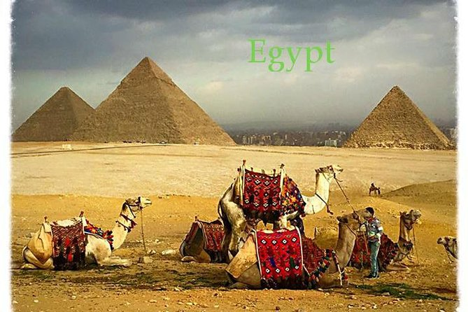 Tour to Giza pyramids, Sphinx & Saqqara step pyramid with private guide