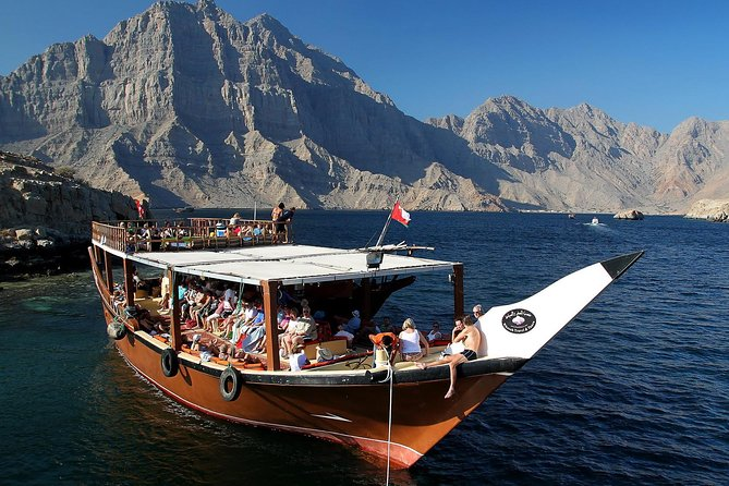 Full Day Musandam Dibba Cruise with Buffet Lunch from Dubai
