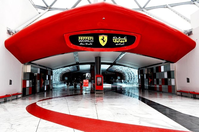 Full Day Ferrari World Tour with transfers from Dubai