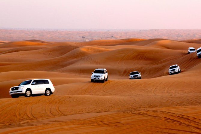 Desert Safari Dubai with BBQ Dinner Pickup from Ras Al Khaimah