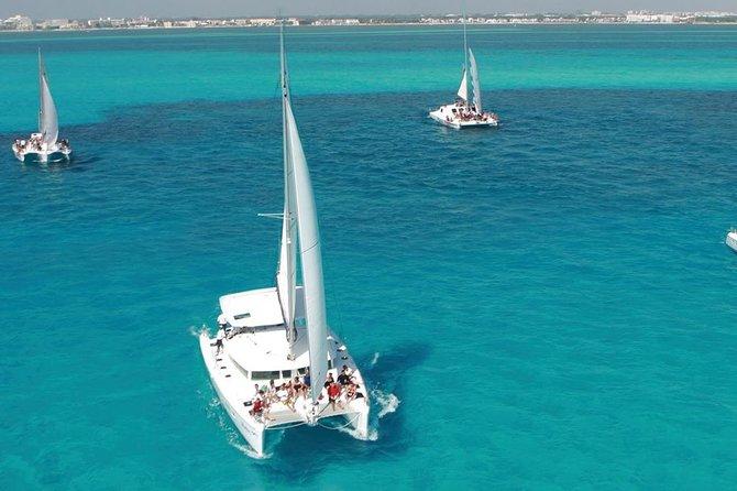 Catamaran Day Cruise to Isla Mujeres