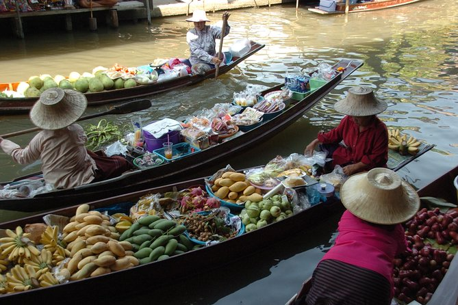 Half Day Floating Market Damnoen Saduak (join in)