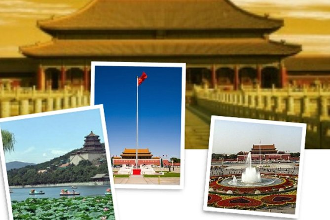 tian'anmen Sauare,Forbidden City 4 Hours Indepth Tour,Summer palace One Day Tour(Group,No-shoping)
