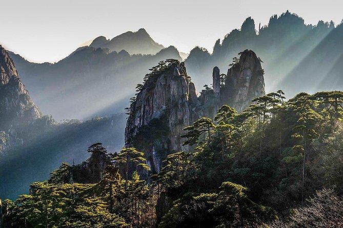 Huangshan Mountain Exploration Day Tour