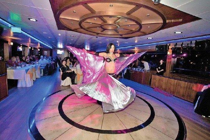 Crucero por el Bósforo de Estambul con cena y danza del vientre