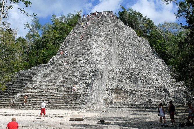Chichen Itza, Cenote Ik Kil and Coba Ruins Premium Service Day Trip