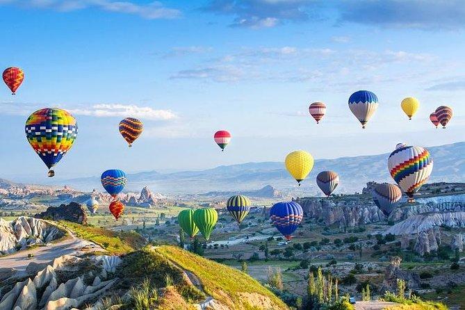Pre-Sunrise Luchtballonvlucht met Underground City en Ihlara Valley Tour