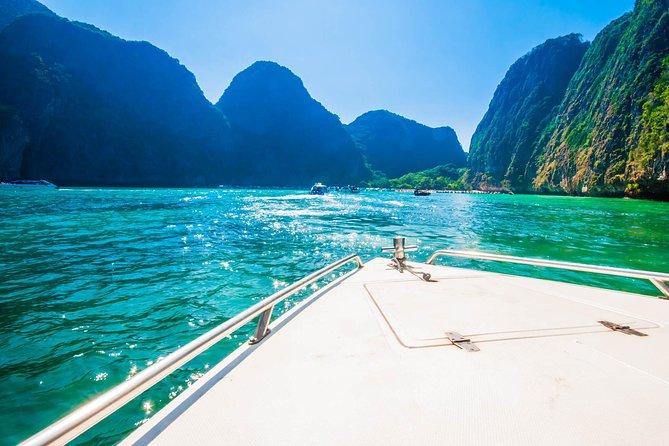 Excursion d'une journée en hors-bord aux îles Phi Phi de Phuket