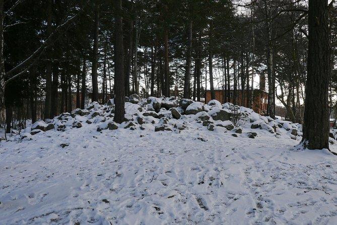 Bronze age stone cain, grave