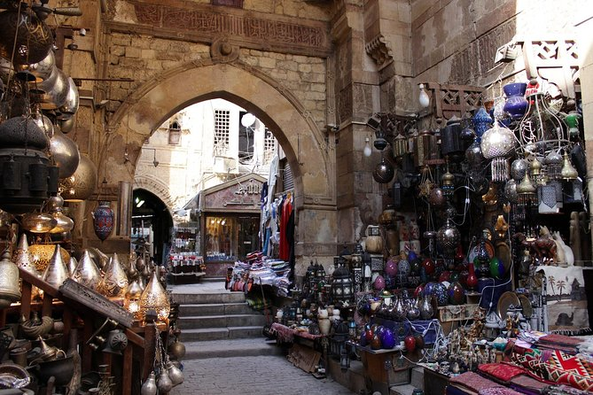 Sightseeing Day Tour to Pyramids, Egyptian Museum and Bazaar from Giza or Cairo photo 28