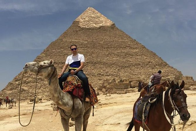 Giza pyramids , sphinx and Nile dinner cruise show from cairo or giza hotel photo 3