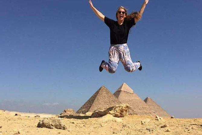 Giza pyramids ,Dahshur bent pyramid , Sakkara step pyramid & Memphis day tour
