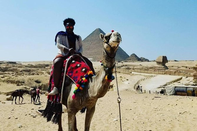 8 Hours-private Giza Pyramids, sphinx and Egyptian Museum