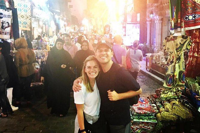 night Cairo city tour with fleucca ride on Nile river