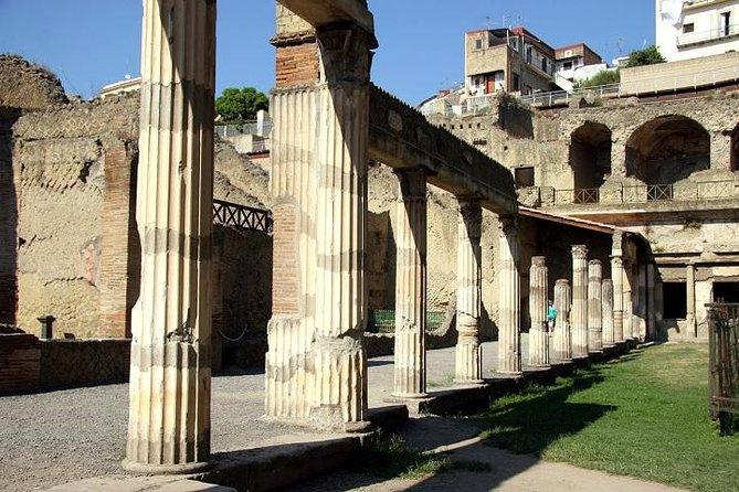 Herculaneum Halve dagtour met hotelovername vanuit Sorrento