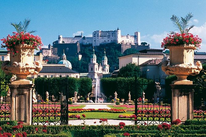 Salzburg Day Trip from Vienna with Accommodation Pick-Up