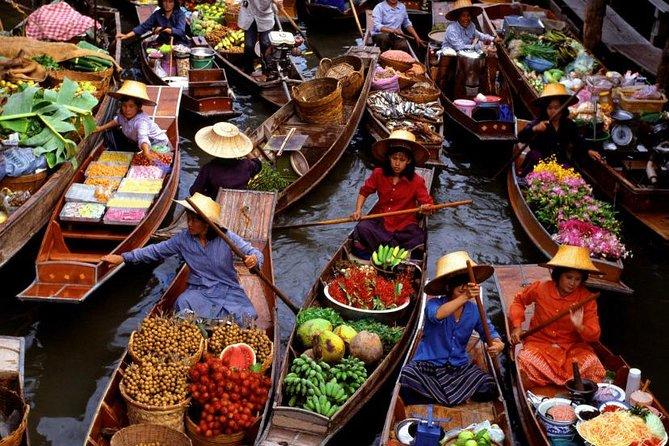 Small-Group Damnoen Saduak Floating Market Tour from Bangkok
