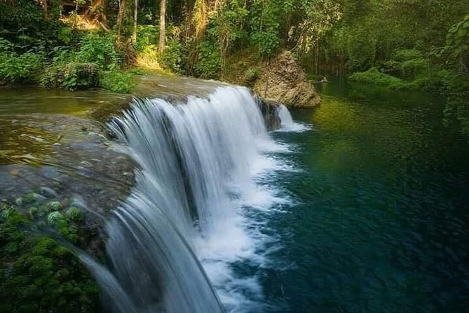 Discover Blue Lagoon Cascades Swim With In Vanuatu From