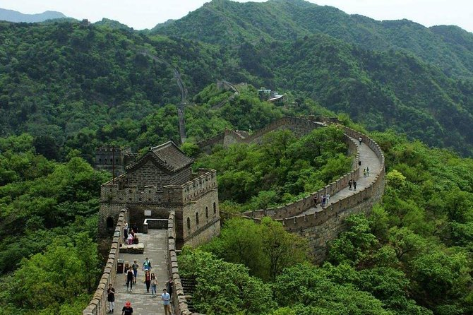 Mutianyu Great Wall Group Tour With Experienced English Speaking Group Guide