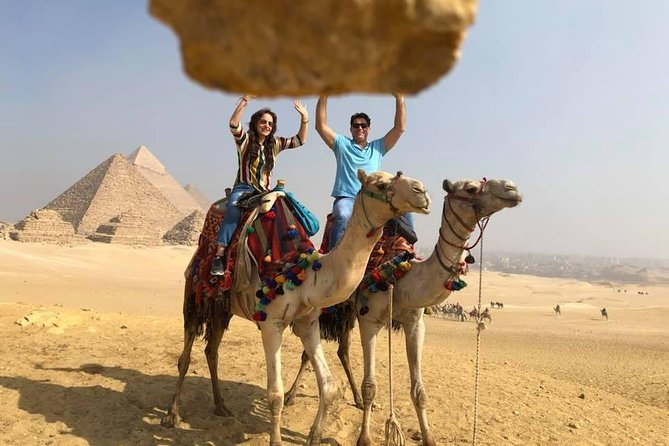 Giza pyramids guided trip from cairo or giza hotel photo 4