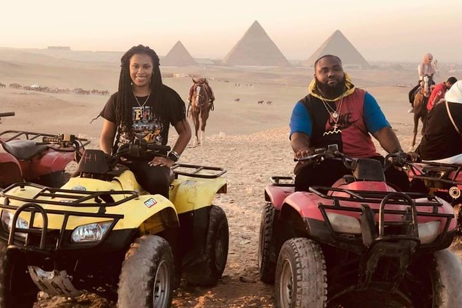 Quad Bike at Giza Pyramids Sunrise/Sunset from Cairo & Giza