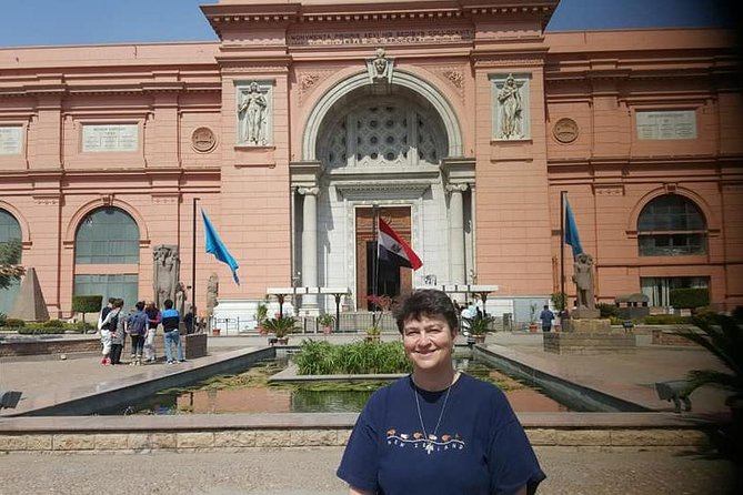 Giza pyramids and Egyptian museum private guided tour photo 6