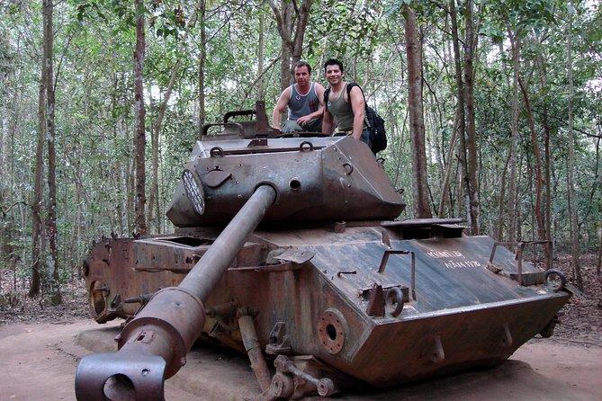 Tank at Cu Chi