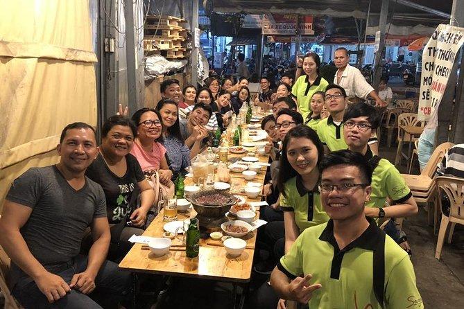 Guided Saigon at Night Walking Street Food Tour
