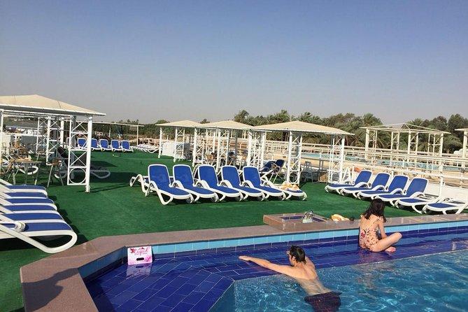 Crucero de 8 días por el Nilo con paseo en globo aerostático desde Asuán