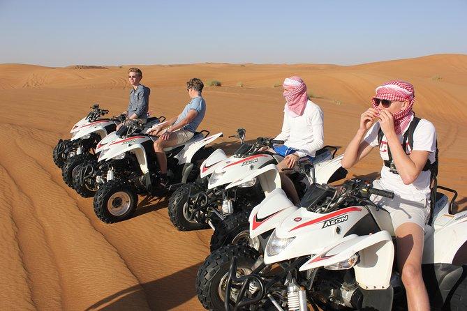 Dubai Morning Desert Adventure 60mins Quad Bike