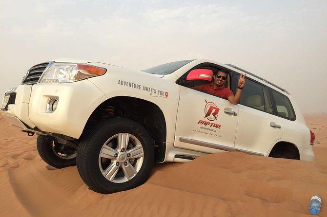 Dune Bashing i den arabiska öknen med grillmiddag