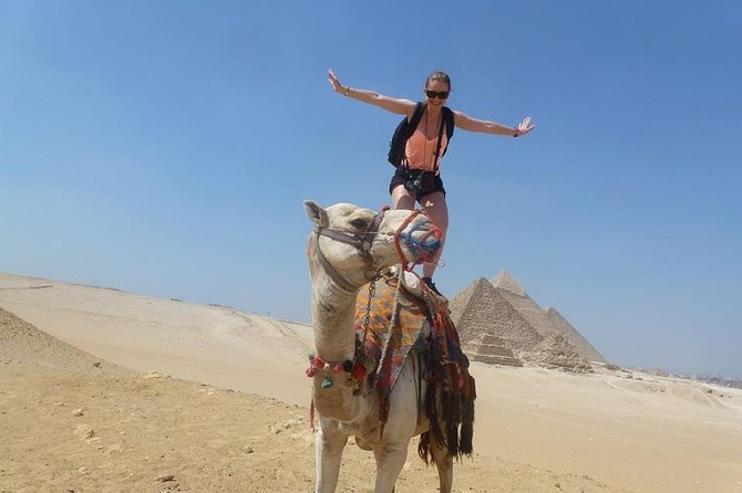 Day Trip to Giza with Camel Ride and Visit the Egyptian Museum