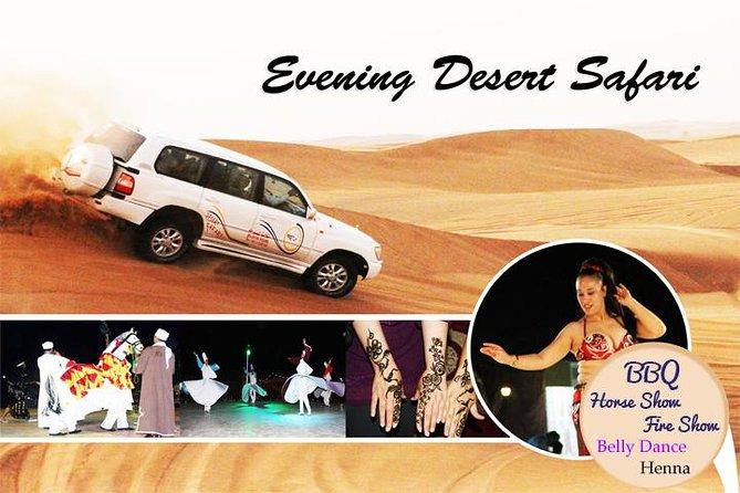 Kvällen Desert Safari med magen dans med grillmiddag
