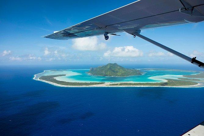 Excursión de un día a Maupiti desde Bora Bora en Cessna