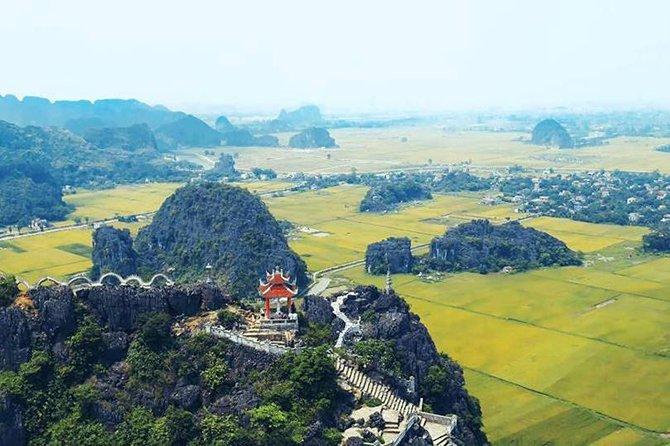 Luxury Hoa Lu Tam Coc Mua Cave Amazing View - Small Group Tour