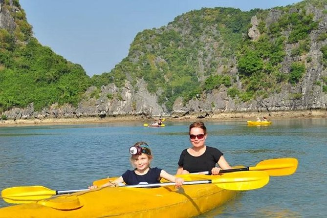 Unique Lan Ha Bay Ha Long Bay Full Day Tour depart from Cat Ba Island