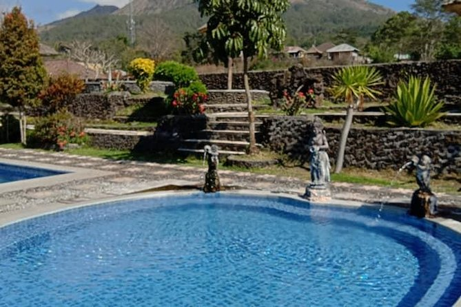 Private Hot Spring pool Camp & Mt Batur Sunrise