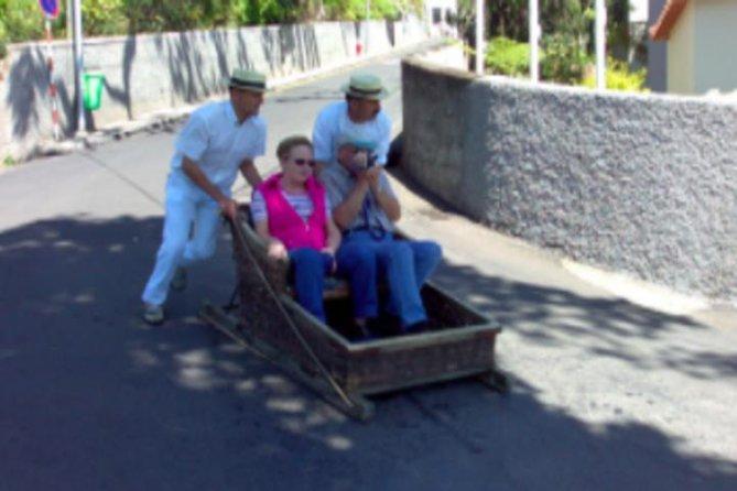 Maderia Island Tour & Famous Monte Toboggan Ride