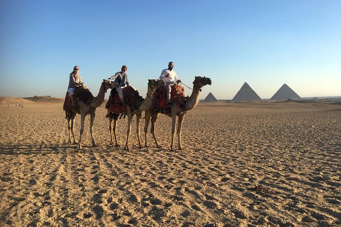 Private Giza pyramids day tour with camel ride